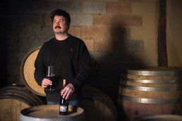 Winemaker Josh Cooper. Copyright RIchard Conrish 2019. All rights reserved. 2 uai