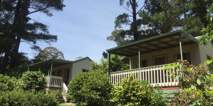 Daylesford Holiday Park Cabins 1 uai