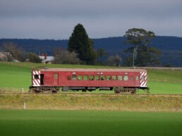 Daylesford Sunday Market Train 2 uai