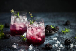 Blackberry Cocktail uai