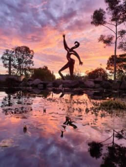 IssaOuattaraSculptureGarden Franklinford 2020 uai