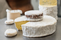 Long Paddock CHeeses by Ivan Larcher. Cheesemaker. Copyright RIchard Cornish 2020. All rights reserved. Single use only. Credit RIchard Cornish uai