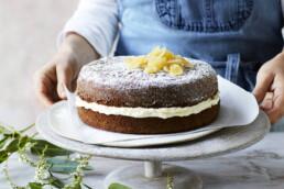 Ginger fluff CAKE uai